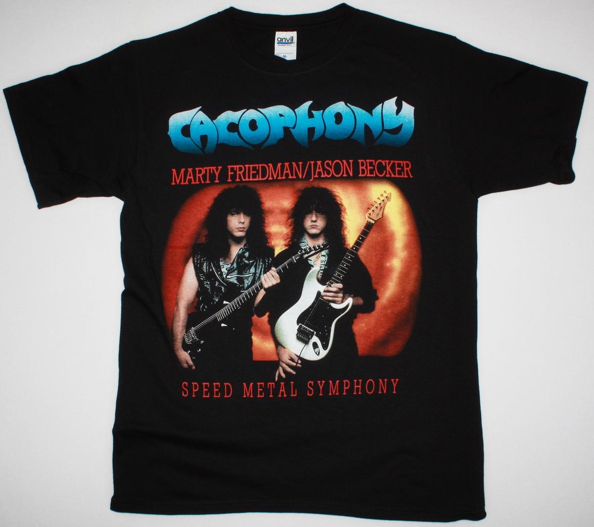 Cacophony Speed Metal Symphony Marty Friedman Jason Becker