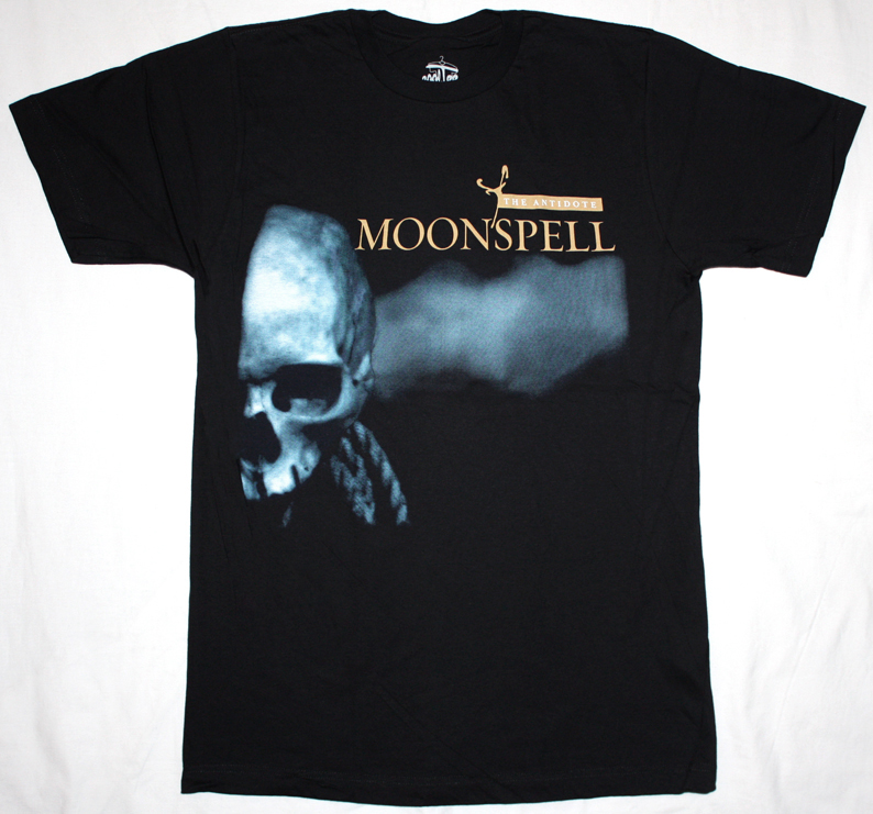 MOONSPELL THE ANTIDOTE '03 NEW BLACK T-SHIRT