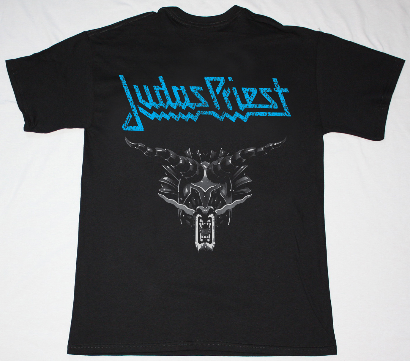 JUDAS PRIEST DEFENDERS OF THE FAITH'84  NEW BLACK T-SHIRT