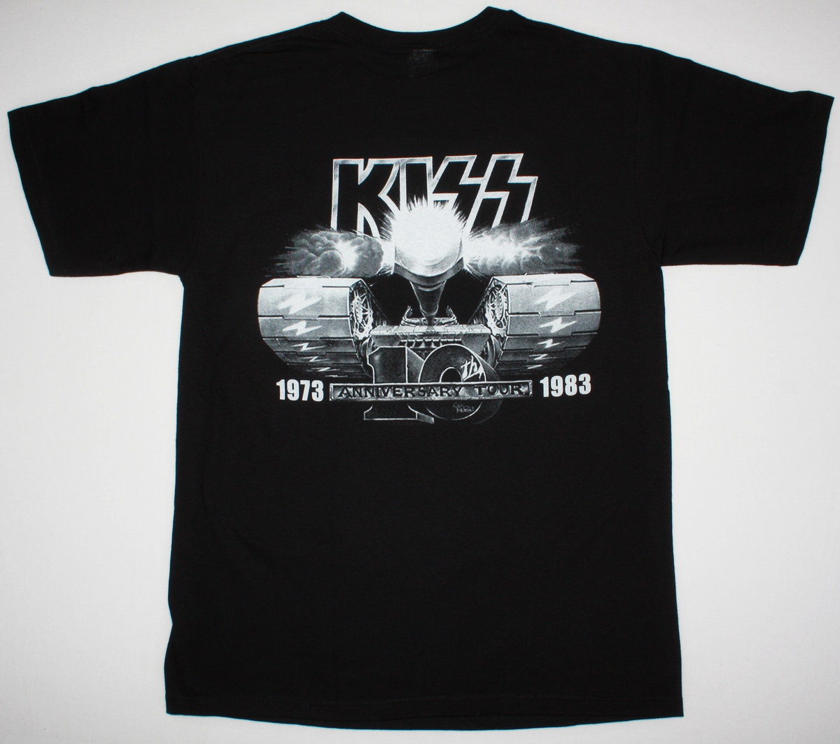 KISS CREATURES OF THE NIGHT ANNIVERSARY TOUR 1983 NEW BLACK T-SHIRT
