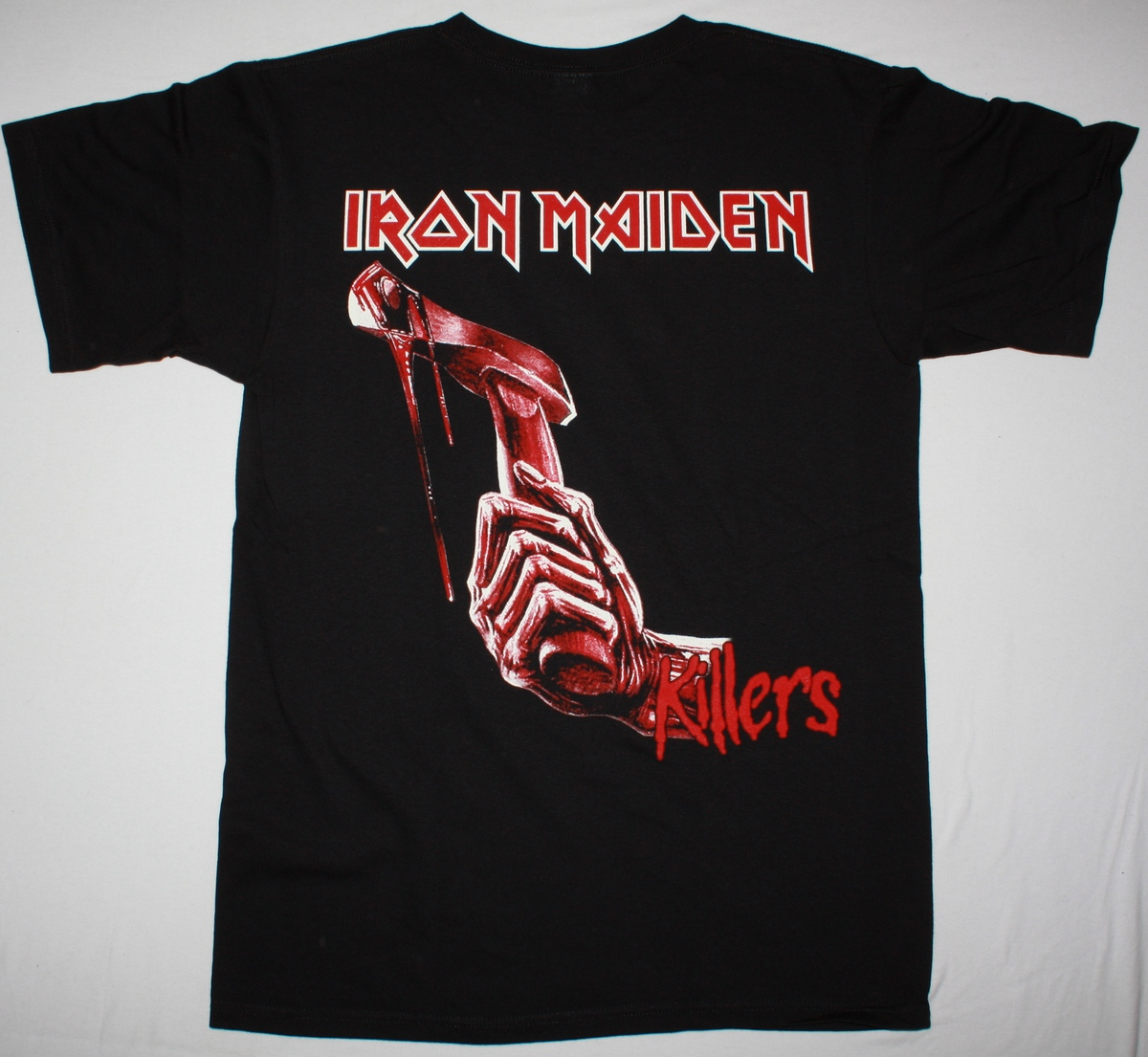 IRON MAIDEN KILLERS 1981 NEW BLACK T-SHIRT
