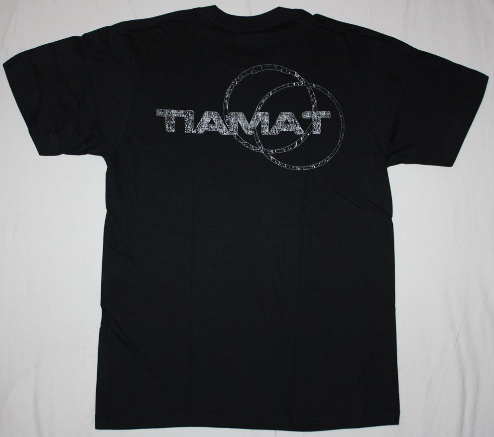 TIAMAT SKELETON SKELETRON'99 NEW BLACK T-SHIRT