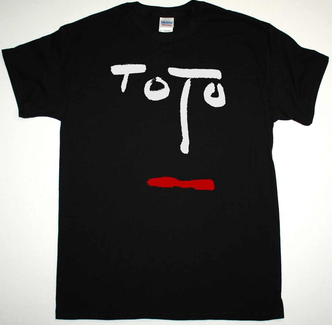 TOTO TURN BACK 1981 NEW BLACK T-SHIRT - Best Rock T-shirts