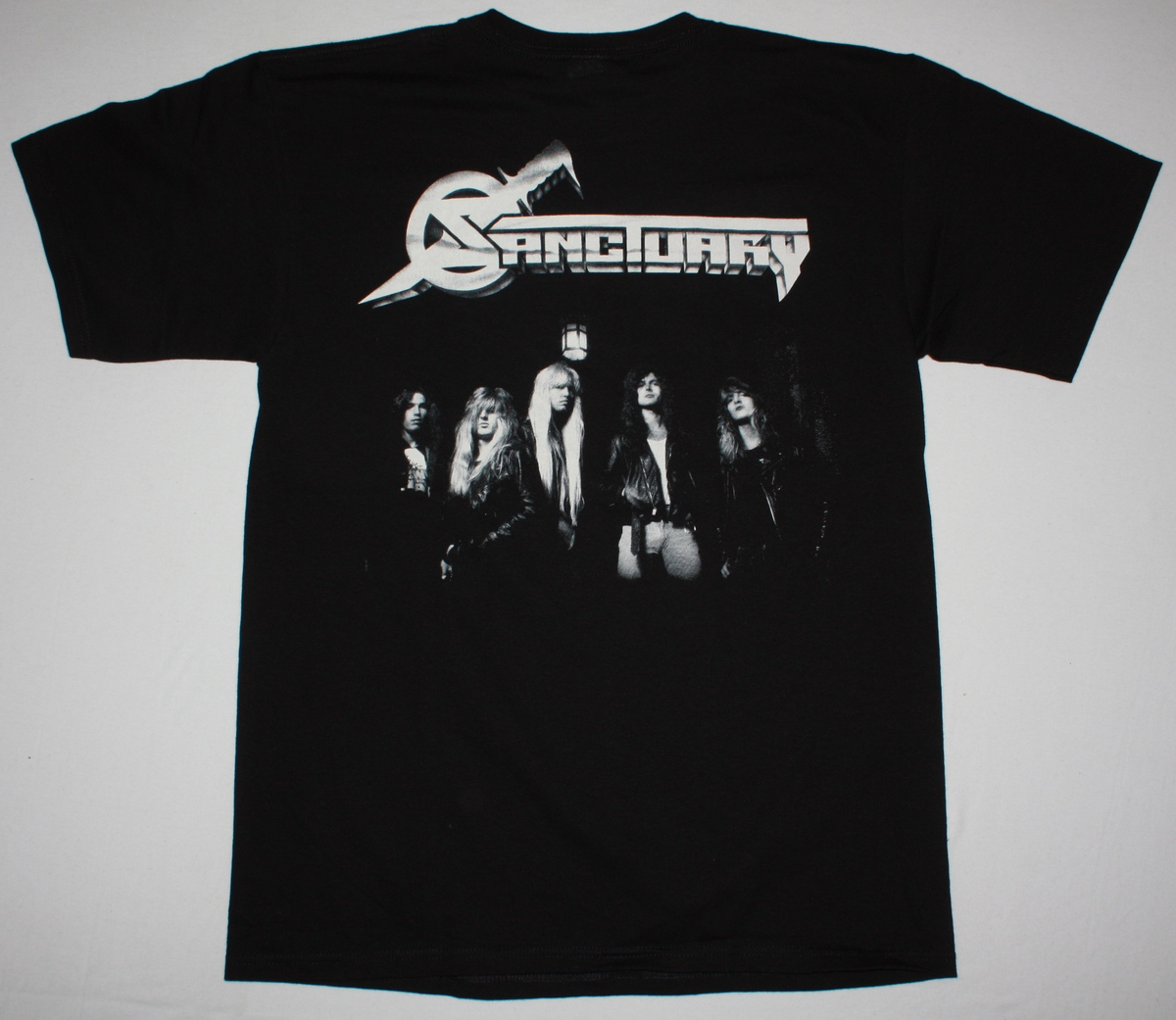 SANCTUARY REFUGE DENIED NEW BLACK T-SHIRT