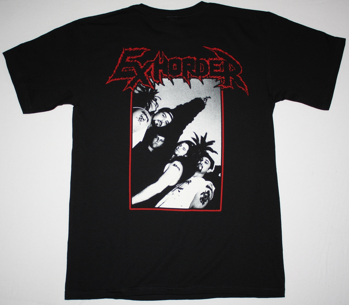 EXHORDER SLAUGHTER IN THE VATICAN 90 NEW BLACK T-SHIRT