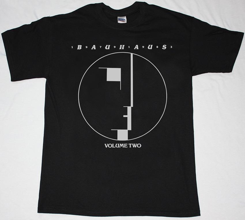 BAUHAUS VOLUME TWO BLACK T-SHIRT