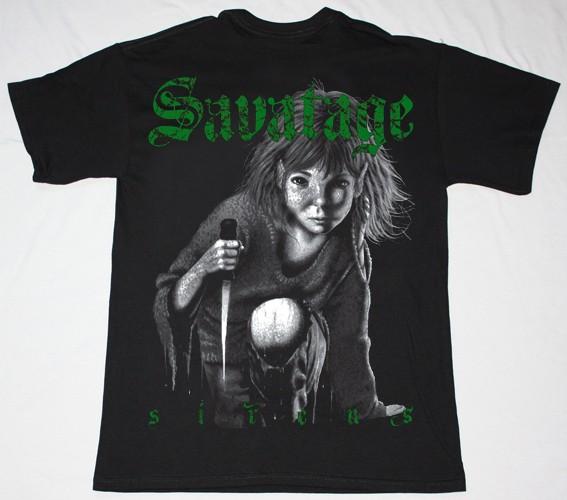 SAVATAGE SIRENS NEW BLACK T-SHIRT