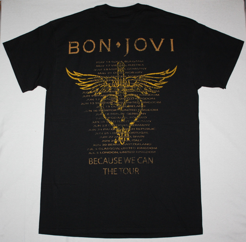 BON JOVI WHAT DO YOU GOT NEW BLACK T-SHIRT