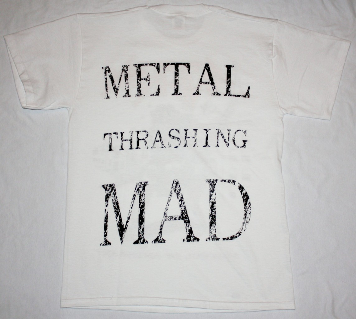 ANTHRAX FISTFUL OF ANTHRAX  NEW WHITE T-SHIRT