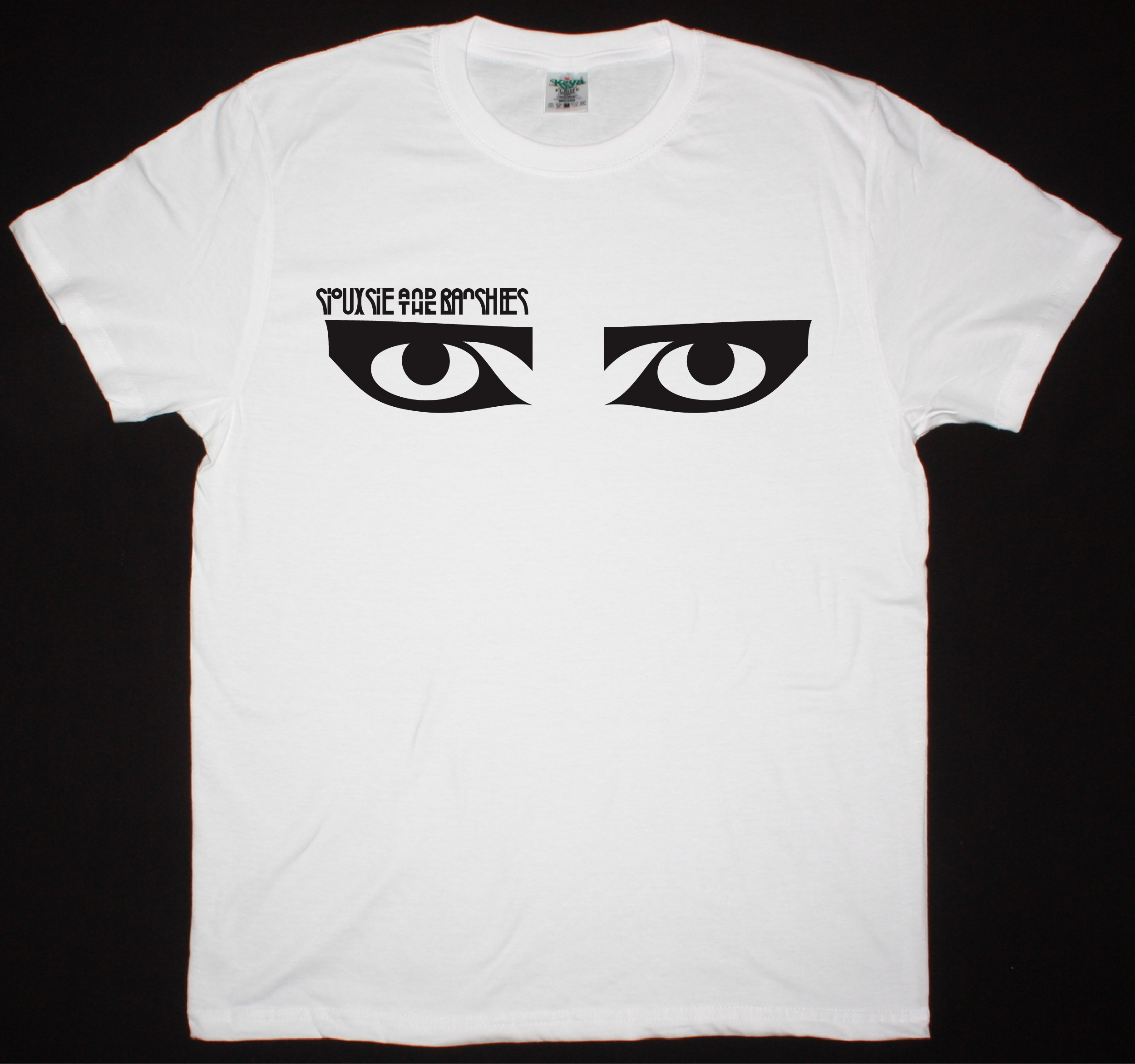 Siouxsie And The Banshees Eyes New White T Shirt Best