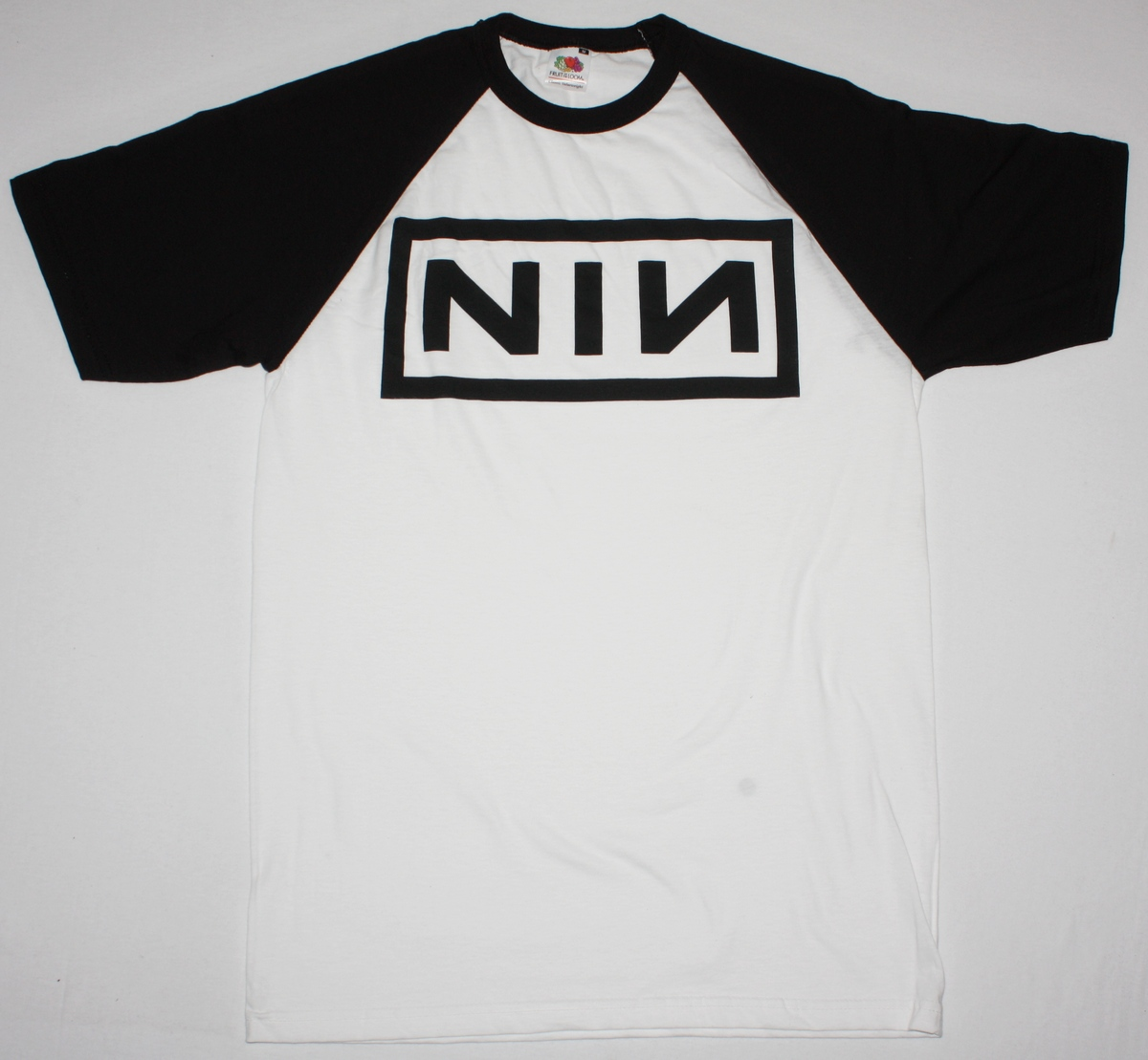 NINE INCH NAILS LOGO TRENT REZNOR INDUSTRIAL NIN NEW WHITE/BLACK ...