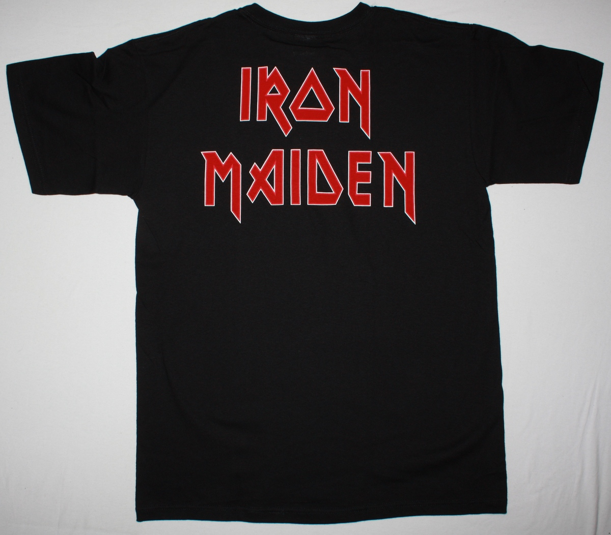 IRON MAIDEN THE TROOPER NEW BLACK T-SHIRT