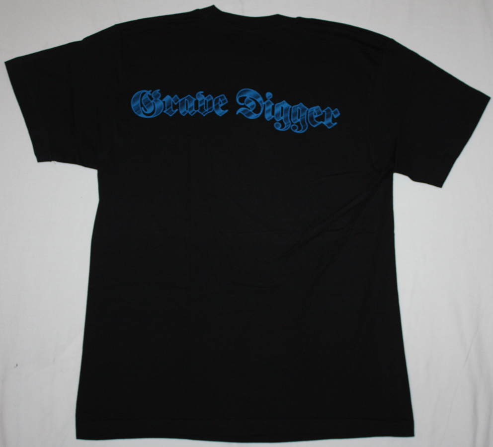 GRAVE DIGGER HEART OF DARKNESS'95  NEW BLACK T-SHIRT
