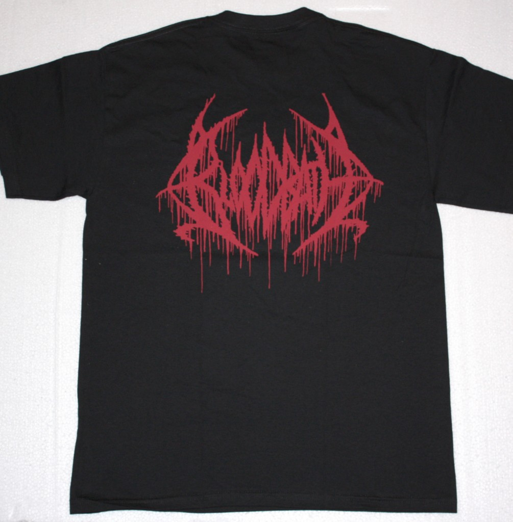 BLOODBATH BREEDING DEATH  NEW BLACK T-SHIRT