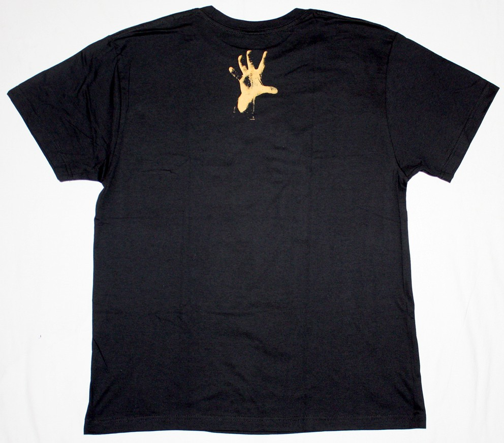 SYSTEM OF A DOWN HAND NEW BLACK T-SHIRT