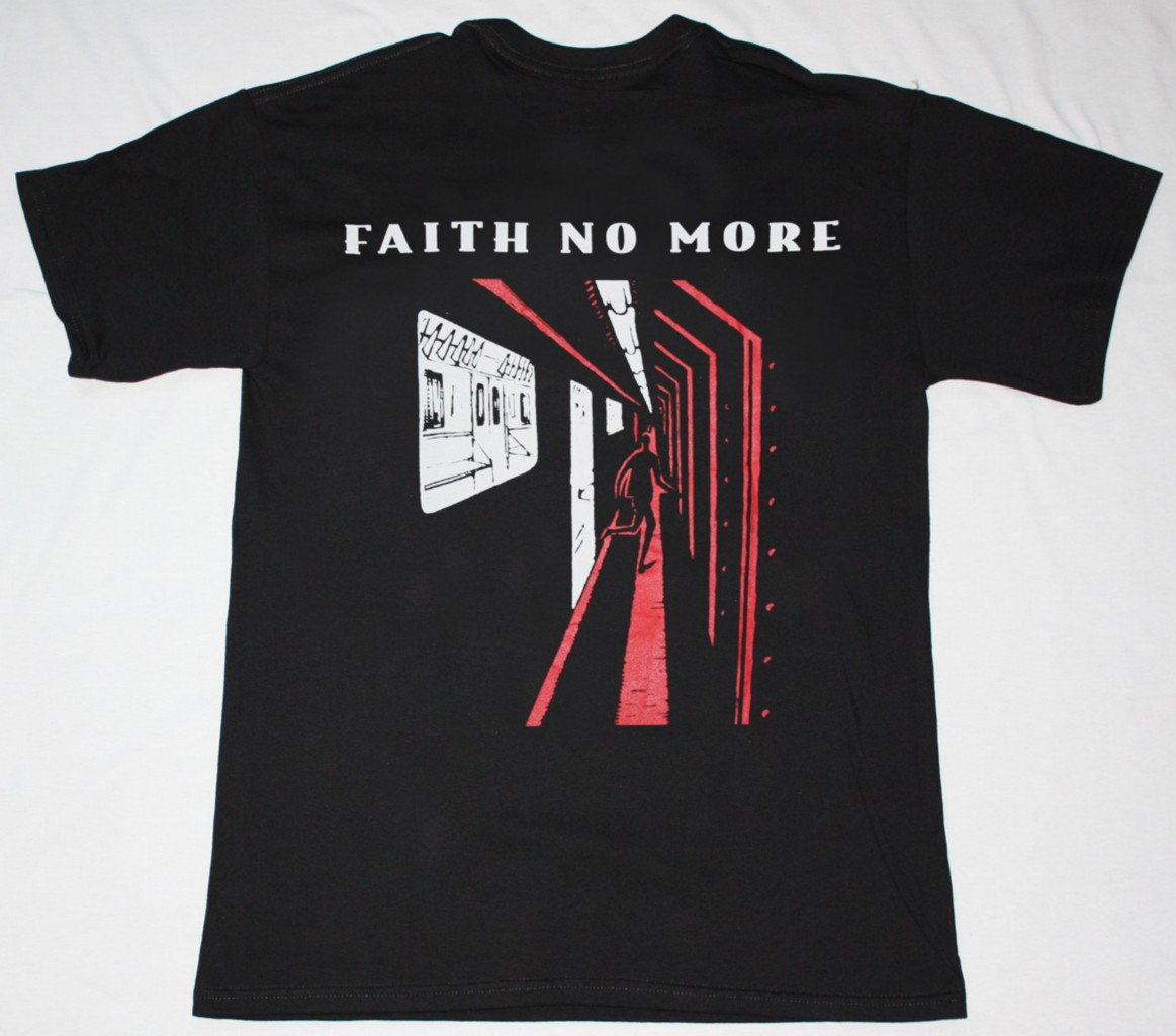 FAITH NO MORE KING FOR A DAY'95 NEW BLACK T-SHIRT