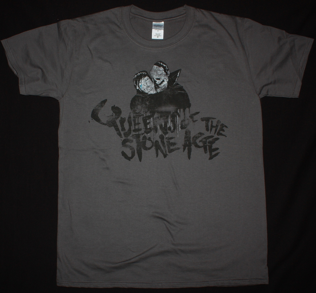 QUEENS OF THE STONE AGE LIKE CLOCKWORK NEW GREY T-SHIRT