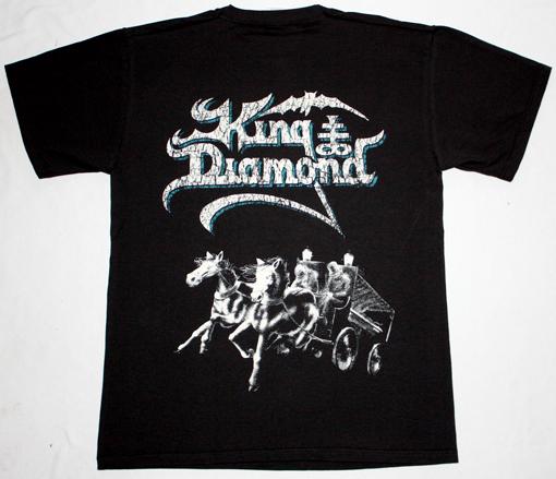 KING DIAMOND ABIGAIL'87  NEW BLACK T-SHIRT