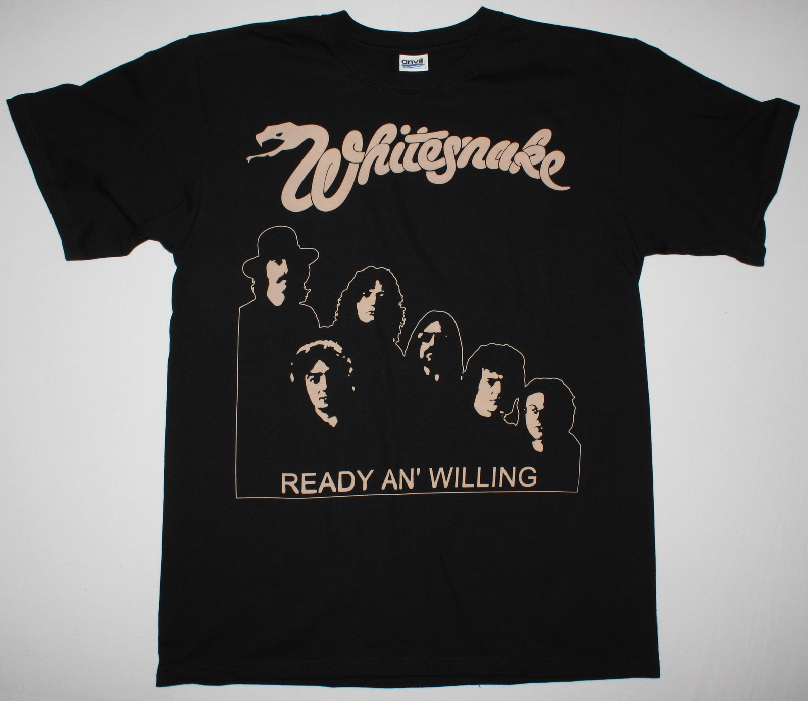 Whitesnake Ready An Willing 80 Covedale Jon Lord New