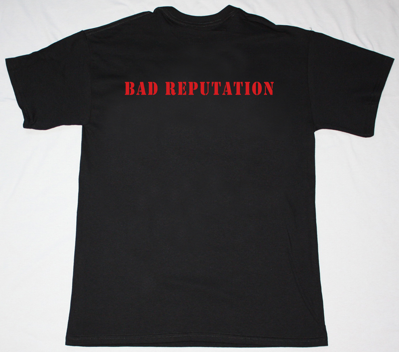 THIN LIZZY BAD REPUTATION'77 NEW BLACK T-SHIRT