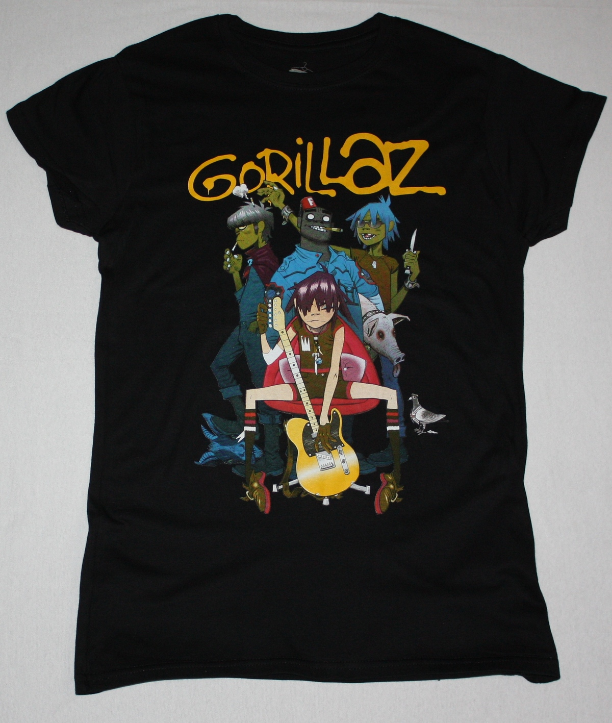 Gorillaz Band Alternative Hip Hop Rock Brit Band Blur New