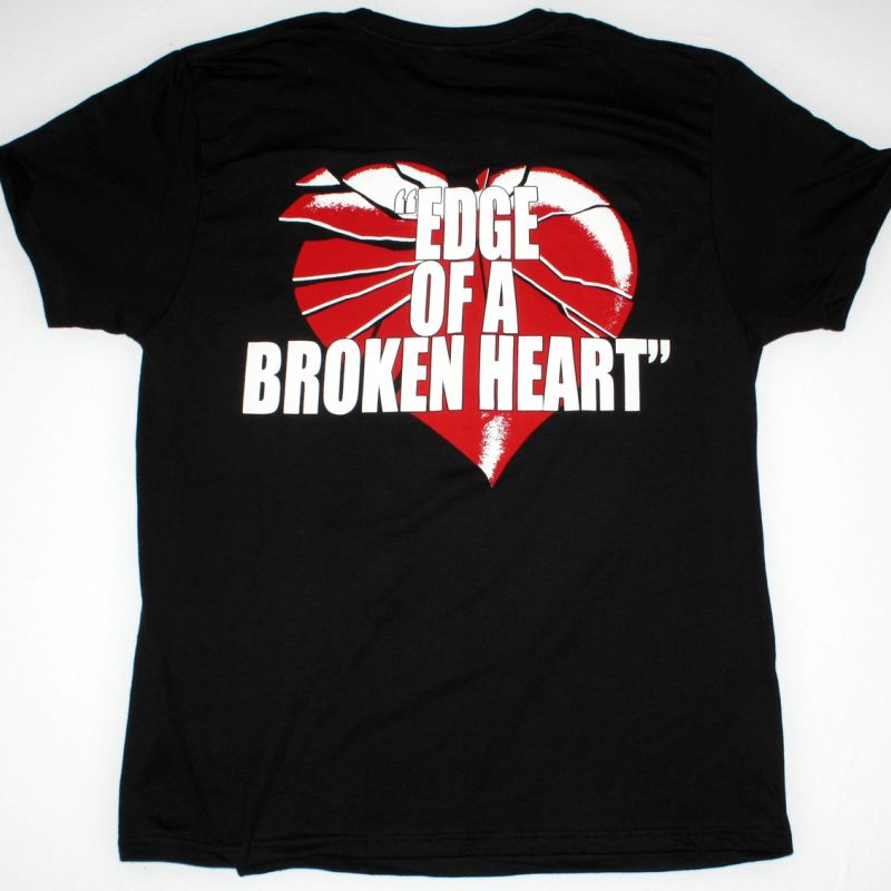 VIXEN EDGE OF BROKEN HEART NEW BLACK T SHIRT