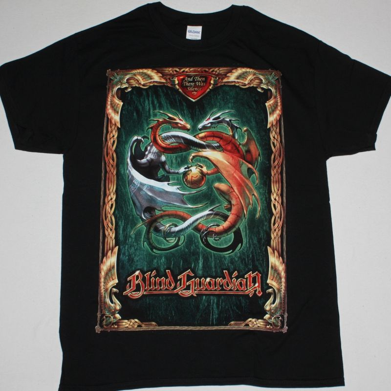 Blind Guardian And Then There Was Silence New Black T