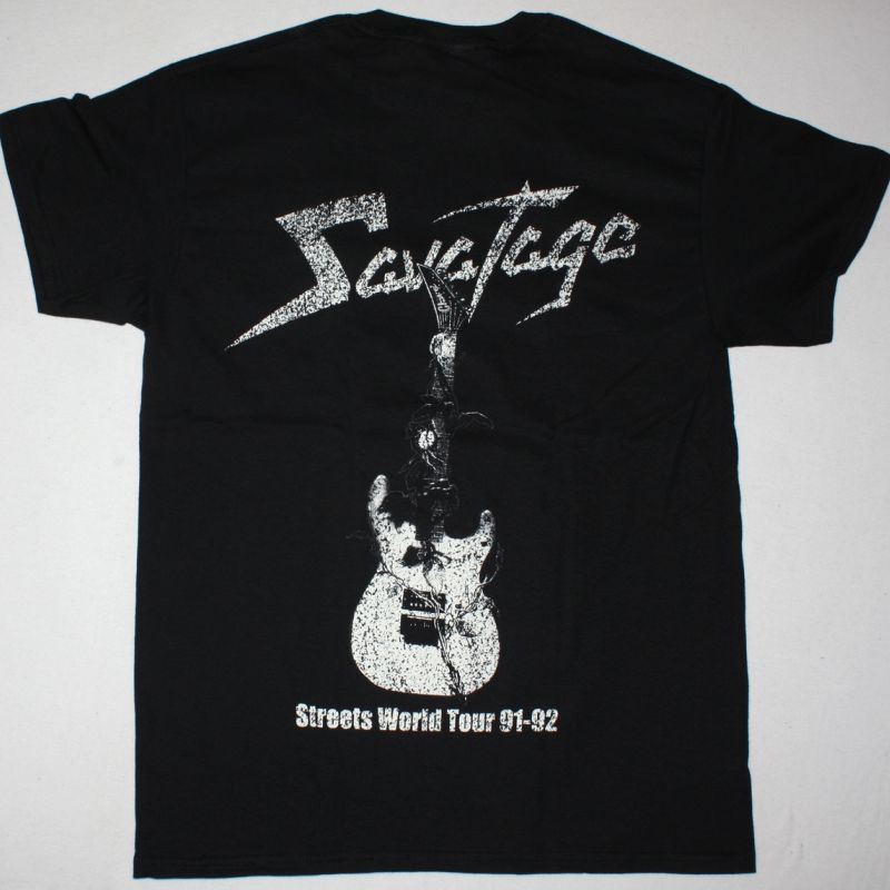 SAVATAGE STREETS: A ROCK OPERA NEW BLACK T-SHIRT