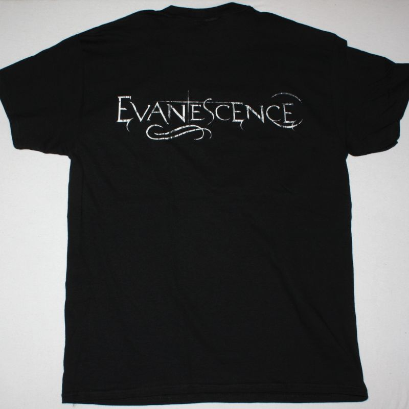EVANESCENCE BAND NEW BLACK T SHIRT