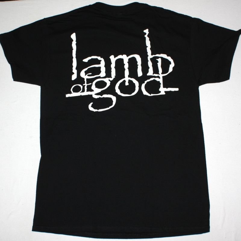 LAMB OF GOD PRAY FOR THE CLEANSING NEW BLACK T-SHIRT