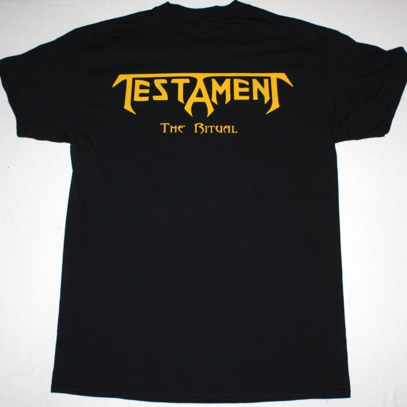 TESTAMENT THE RITUAL NEW BLACK T-SHIRT