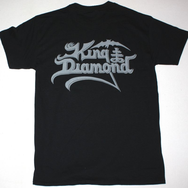KING DIAMOND THE SPIDER'S LULLABYE NEW BLACK T-SHIRT