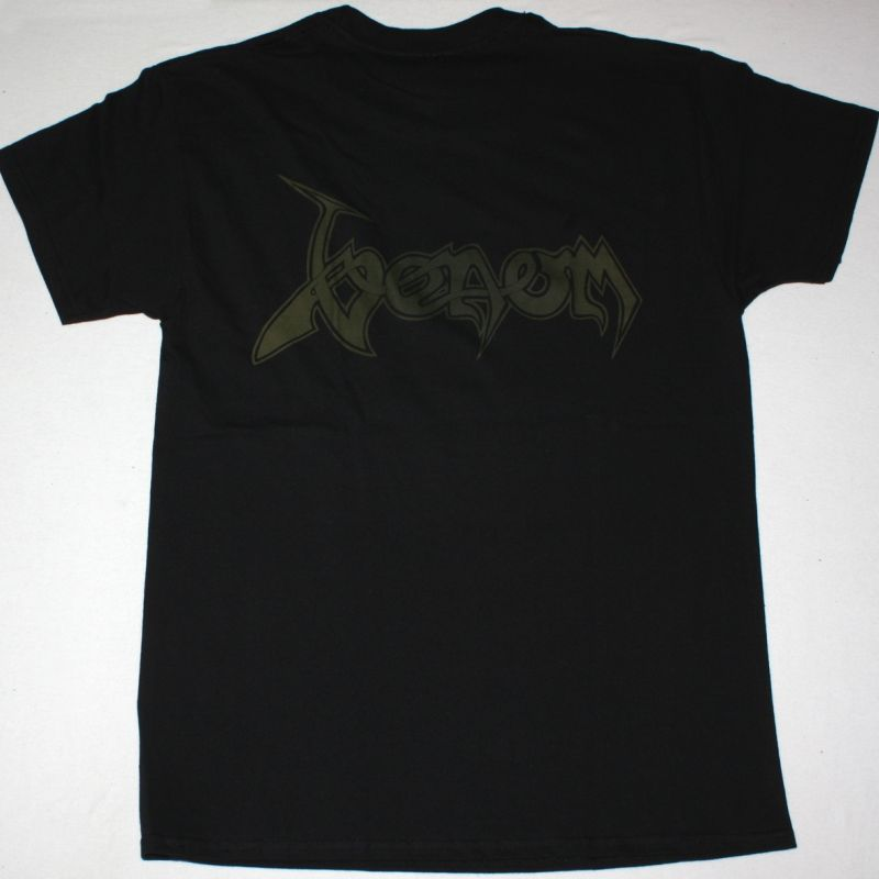 VENOM PHOTO BAND NEW BLACK T-SHIRT