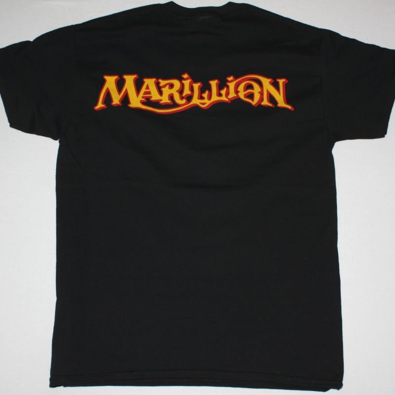 MARILLION SCRIPT FOR A JESTER'S TEAR '83 NEW BLACK T-SHIRT