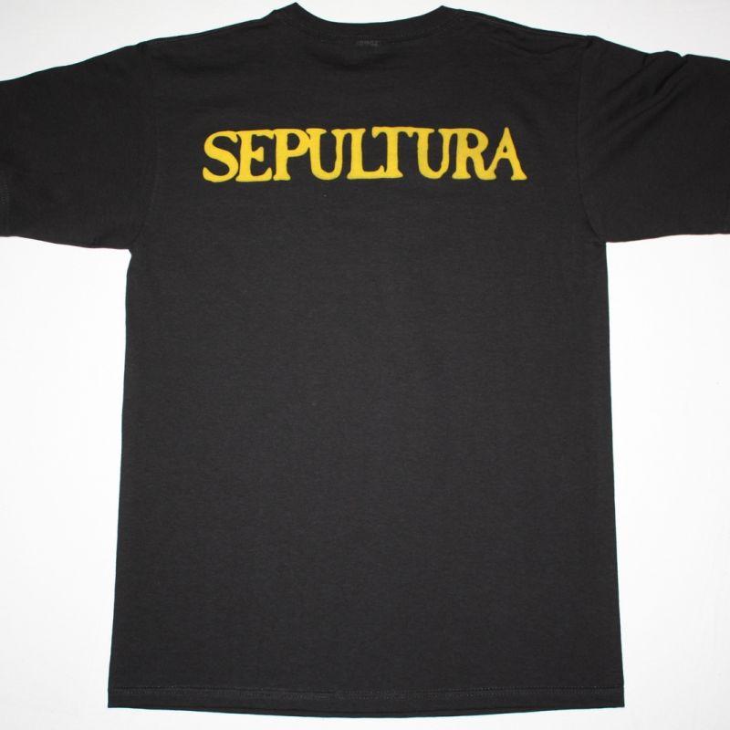SEPULTURA BENEATH THE REMAINS'89  NEW BLACK T-SHIRT