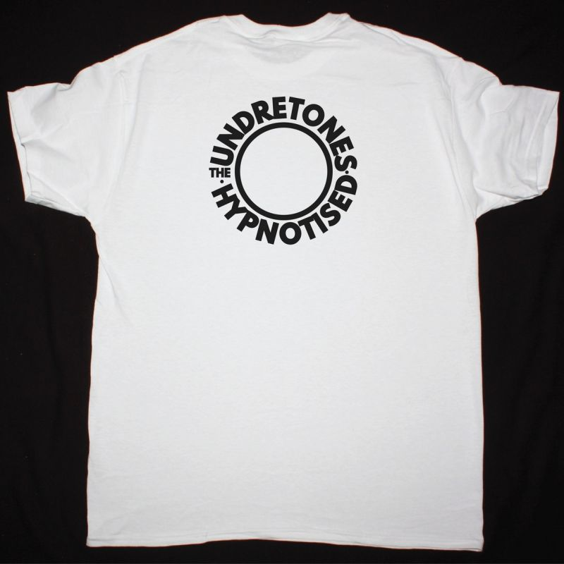 THE UNDERTONES 15 ROCKIN HUMDINGERS NEW WHITE T SHIRT