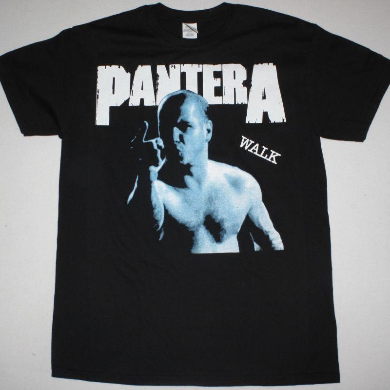 PANTERA WALK NEW BLACK T-SHIRT