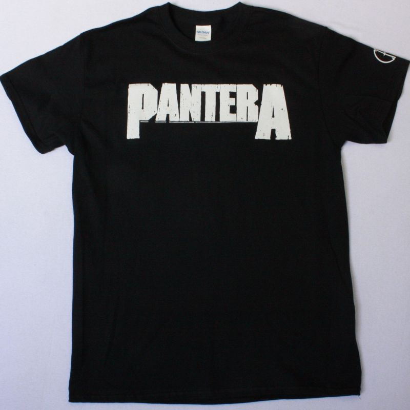 PANTERA LOGO CFH NEW BLACK T-SHIRT