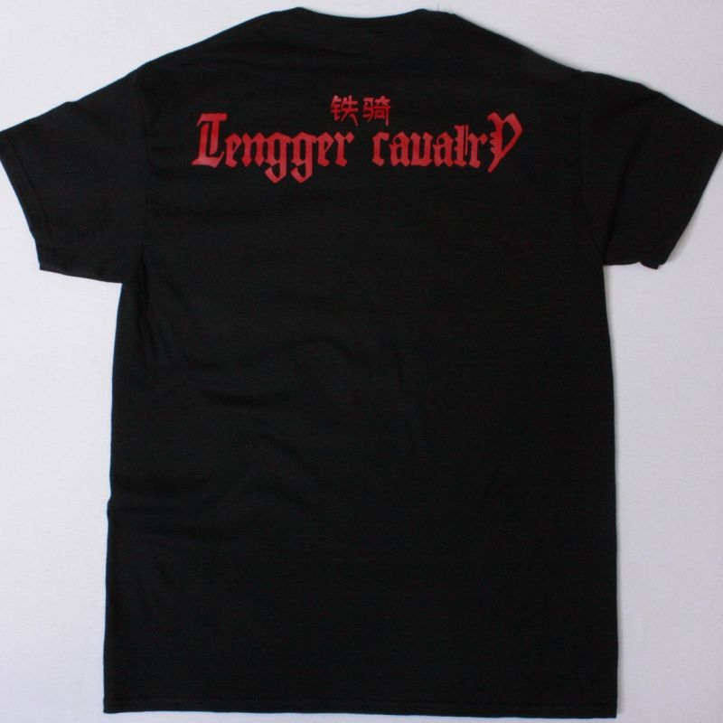 TENGGER CAVALRY WOLF TOTEM NEW BLACK T-SHIRT