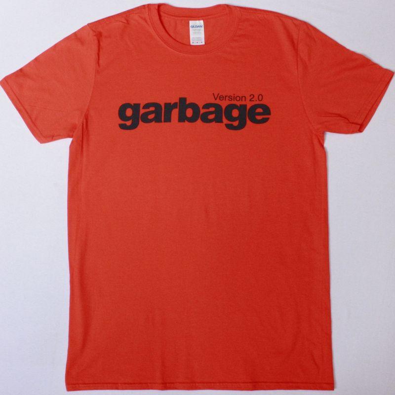 GARBAGE VERSION 2.0 NEW ORANGE T-SHIRT