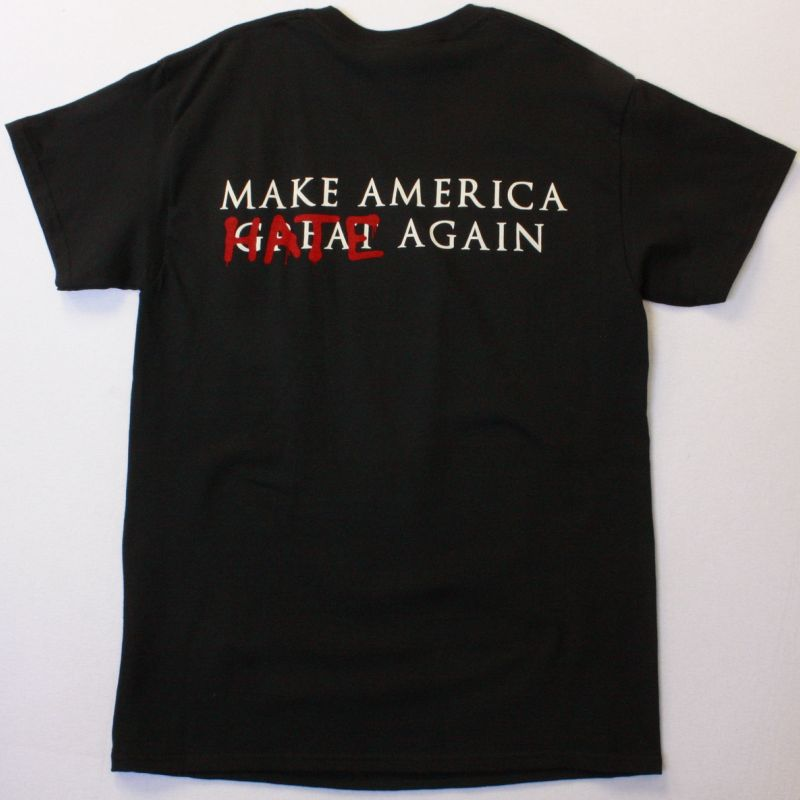 BRUJERIA MATANDO GUEROS MAKE AMERICA NEW BLACK T-SHIRT
