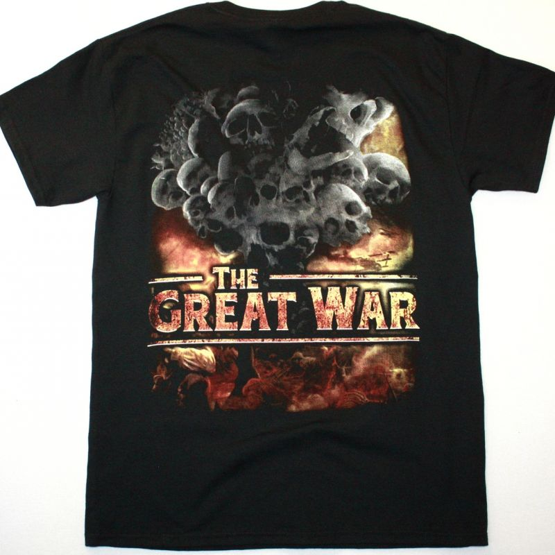 SABATON THE GREAT WAR NEW BLACK T-SHIRT