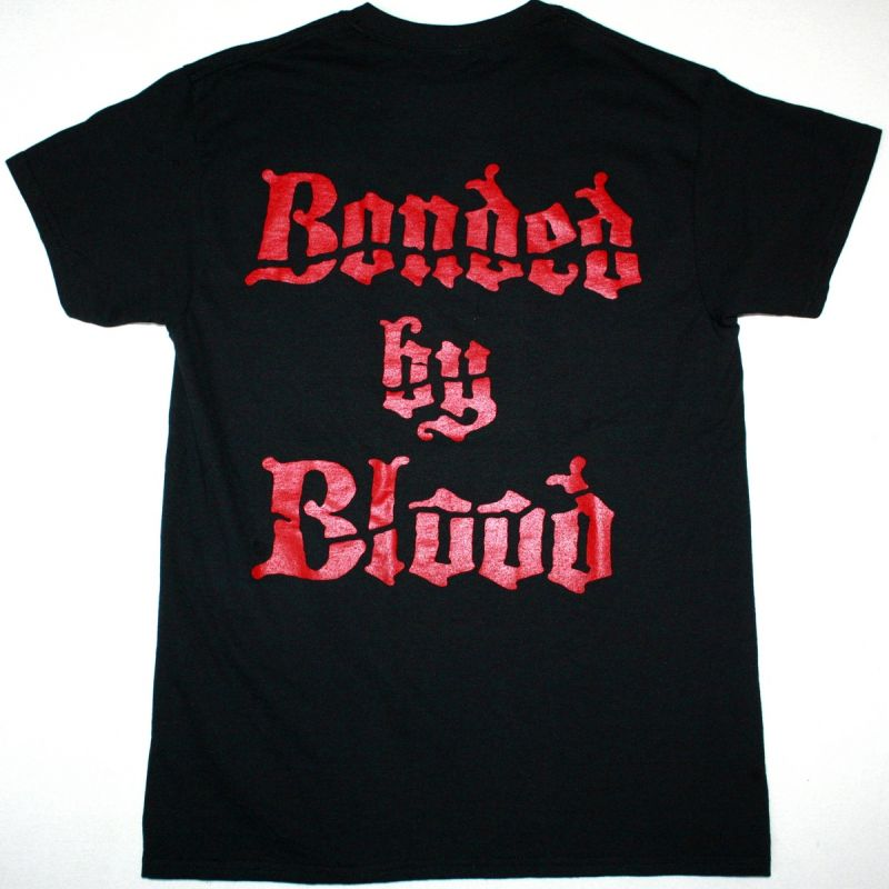 EXODUS BONDED BY BLOOD NEW BLACK T SHIRT