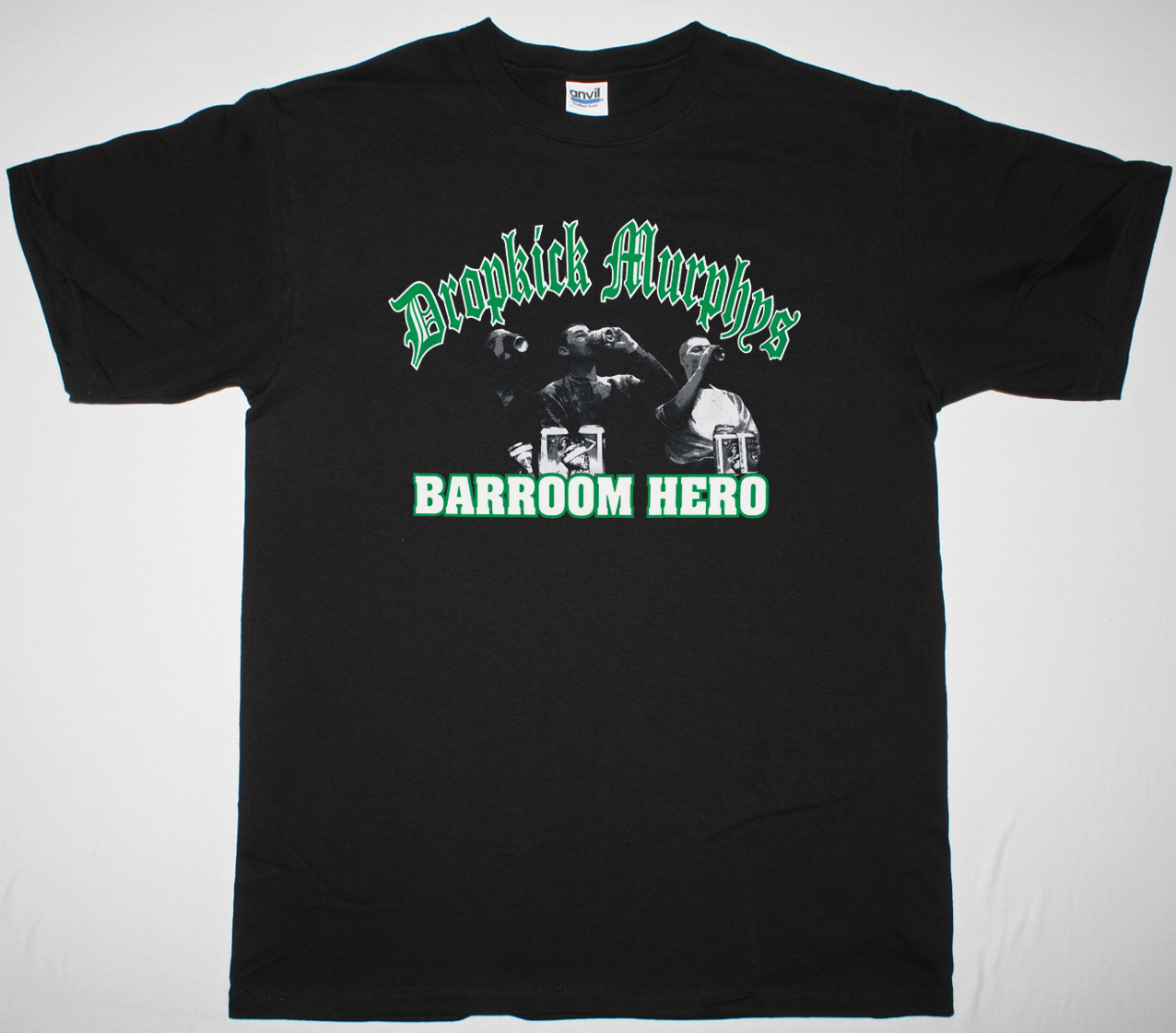 DROPKICK MURPHYS BARROOM HERO NEW BLACK T-SHIRT
