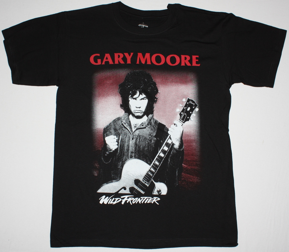 GARY MOORE WILD FRONTIER'87 NEW BLACK T-SHIRT