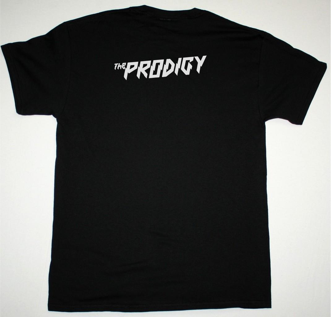 THE PRODIGY ANT LOGO NEW BLACK T SHIRT