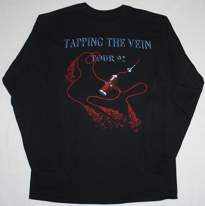 SODOM TAPPING THE VEIN TOUR'92 S-XXL LONG SLEEVE T-SHIRT