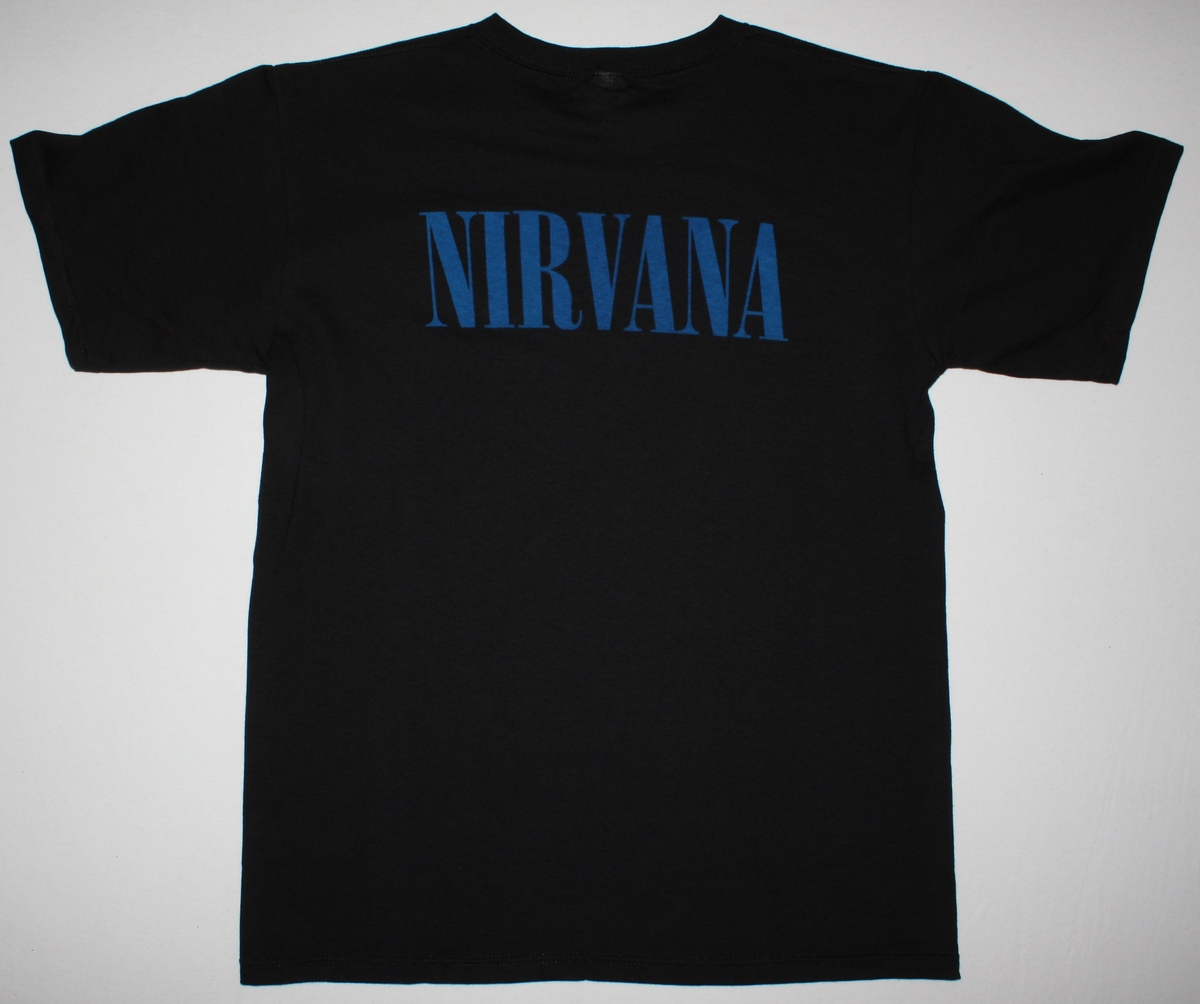 NIRVANA PHOTO NEW BLACK T-SHIRT