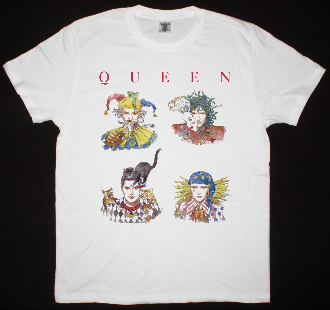 b89e7024 QUEEN BAND INNUENDO NEW WHITE T-SHIRT
