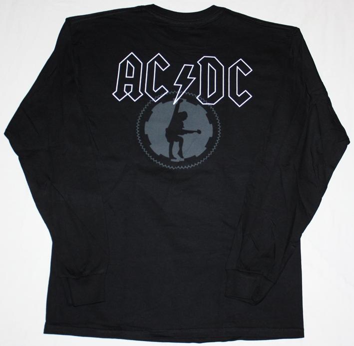 AC DC BLACK ICE  AC/DC NEW BLACK LONG SLEEVE T-SHIRT